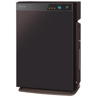 ダイキン(DAIKIN)のMCK70X-T ブラウン(空気清浄器)