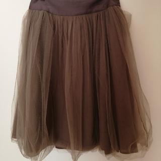 ロイスクレヨン(Lois CRAYON)のシフォンスカート(ひざ丈スカート)