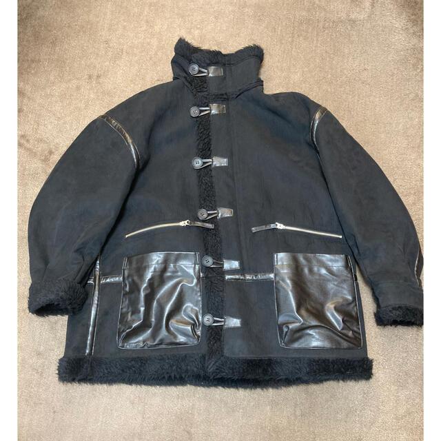SUNSEA(サンシー)のNEON SIGN ネオンサイン 18AW フェイクムートンジャケット b7 メンズのジャケット/アウター(レザージャケット)の商品写真