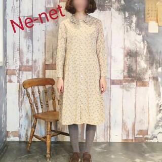 ネネット(Ne-net)のNe-net  リスシャツワンピース(ロングワンピース/マキシワンピース)