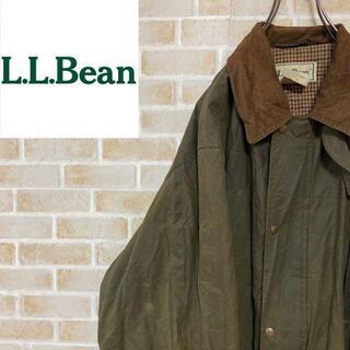 エルエルビーン(L.L.Bean)の●エルエルビーン●オイルドジャケット コーデュロイ カーキ ビッグシルエット(その他)