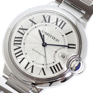 カルティエ(Cartier)のカルティエ Cartier バロンブルー LM 腕時計 メンズ【中古】(金属ベルト)