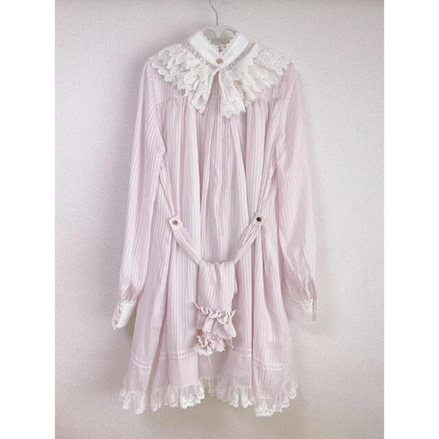 Angelic Pretty(アンジェリックプリティー)の「The Pious」衿付きワンピース レディースのワンピース(ひざ丈ワンピース)の商品写真