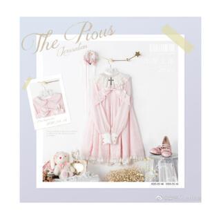 アンジェリックプリティー(Angelic Pretty)の「The Pious」衿付きワンピース(ひざ丈ワンピース)