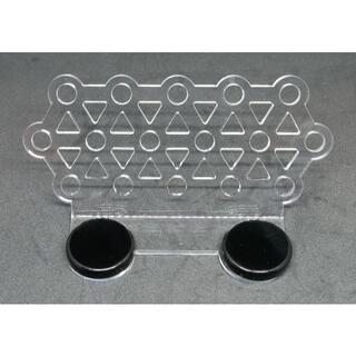 【送料無料】コーラル フラグベース 大(サンゴ 台16個用):新設計【磁石固定】(アクアリウム)