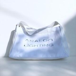 アナログライティング(analog lighting)のアナログライティング トートバッグ LARGE ANALOG LIGHTING(トートバッグ)