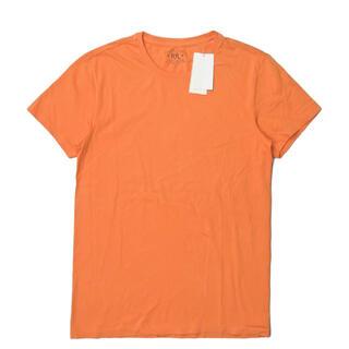 ダブルアールエル(RRL)のRRL S/S TUBE TEE 半袖Tシャツ S オレンジ メンズ(Tシャツ/カットソー(半袖/袖なし))