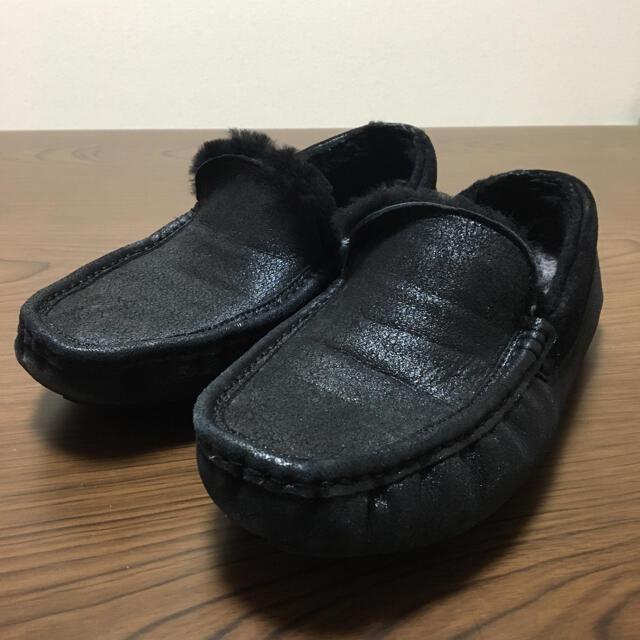UGG(アグ)の最終価格  美品  UGG  ヘンリックボンバー  モカシン  メンズ  アグ メンズの靴/シューズ(スリッポン/モカシン)の商品写真