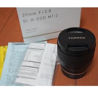タムロン(TAMRON)のTAMRON 20mm F2.8 Di III OSD M1:2(レンズ(単焦点))