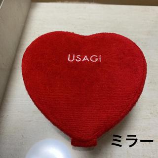 スナイデル(snidel)のUSAGI ミラー ウサギオンライン 鏡 ハート(ミラー)