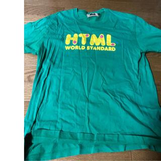 エイチティーエムエル(html)のhtml Tシャツドラミちゃんコラボ(Tシャツ/カットソー(半袖/袖なし))