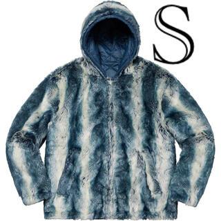 シュプリーム(Supreme)のFaux Fur Reversible Hooded Jacket(ブルゾン)