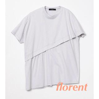 フローレント(FLORENT)のflorent Cotton Short-Sleeve Top TOPS(Tシャツ(半袖/袖なし))