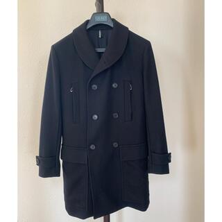 DIOR HOMME - Dior HOMME ウールコート サイズ48 黒 12AW