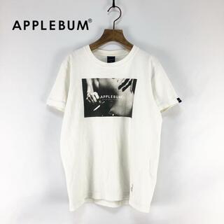 アップルバム(APPLEBUM)の【APPLEBUM】フォトプリント クルーネックTシャツ S(Tシャツ/カットソー(半袖/袖なし))