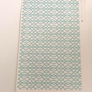転写紙 ポーセラーツ ジオメトリー/幾何学模様(型紙/パターン)