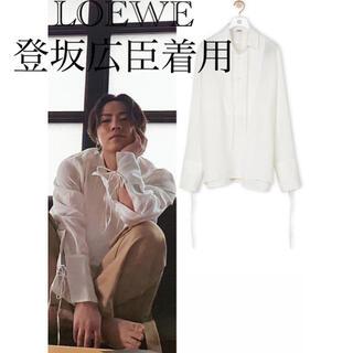 ロエベ(LOEWE)のLOEWE タイシャツ (リネン) 登坂広臣着用(シャツ)
