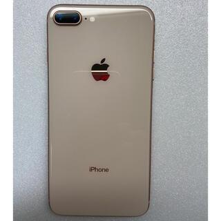 アイフォーン(iPhone)のiphone8 Plus Gold 64Gb Simフリーバッテリー100%(スマートフォン本体)
