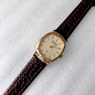 ラドー(RADO)のRADO レディースクォーツ腕時計 稼動品 ベルト未使用(腕時計)