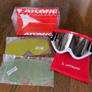 アトミック(ATOMIC)のatomic スキー スノボ ゴーグル(アクセサリー)
