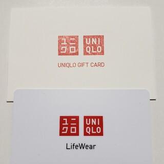 ユニクロ(UNIQLO)のUNIQLO ユニクロ ギフトカード 5000円 新品未使用(ショッピング)