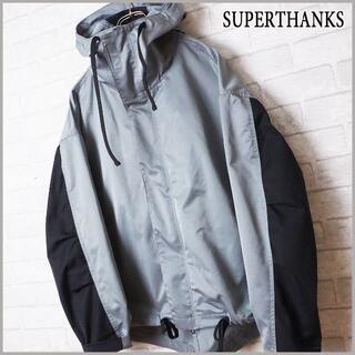 ハレ(HARE)の【SUPERTHANKS】ビッグシルエット 切替 モッズジャケット コート(モッズコート)
