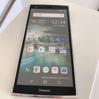 キョウセラ(京セラ)のURBANO Android スマホモック(スマートフォン本体)