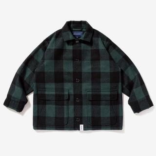 W)taps - descendant rag melton jacket 3