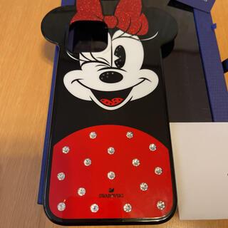 スワロフスキー(SWAROVSKI)のスワロフスキー社、ミニーミッキーiPhone12 Pro Maxケース(iPhoneケース)