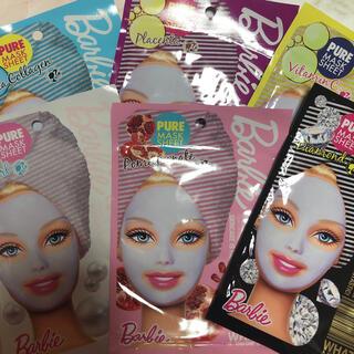バービー(Barbie)のバービー シートマスク 6枚 セット(パック/フェイスマスク)