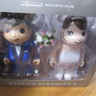 メディコムトイ(MEDICOM TOY)のBE@RBRICK グリーティング結婚 4 PLUS 400% (その他)