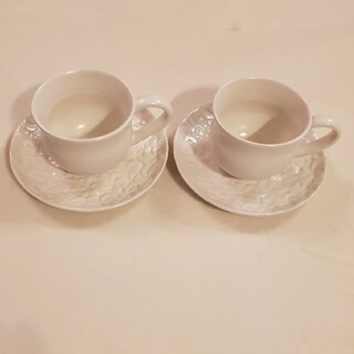 ジェンガラ(Jenggala)のジェンガラ カップ&ソーサー 2客(食器)