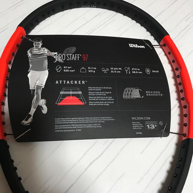 wilson(ウィルソン)のWilson プロスタッフ97  スポーツ/アウトドアのテニス(ラケット)の商品写真