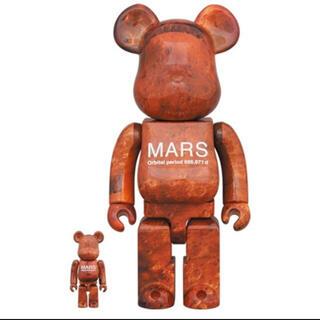 メディコムトイ(MEDICOM TOY)のMEDICOM TOY MARS BE@RBRICK 100% & 400%(その他)