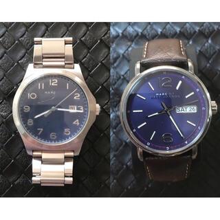 マークバイマークジェイコブス(MARC BY MARC JACOBS)の【限定セール】Marc by Marc Jacob 腕時計2個セット 稼働中(腕時計(アナログ))