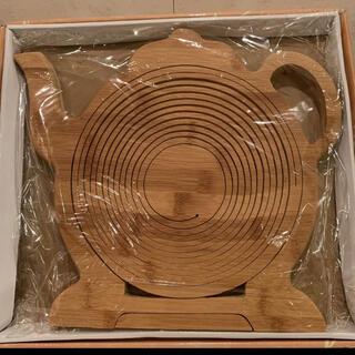 ムジルシリョウヒン(MUJI (無印良品))のティーポット バスケット 新品未使用(テーブル用品)