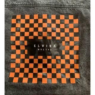 エルヴィア(ELVIA)のほぼ新品 エルヴィラ ELVIRA  Gジャン デニムジャケット サイズS(Gジャン/デニムジャケット)