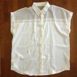 ジーユー(GU)のGUシャツ♡(シャツ/ブラウス(半袖/袖なし))