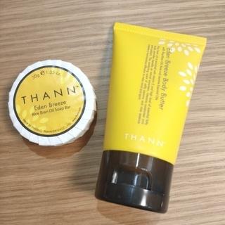 タン(THANN)の【新品】THANN ボディバター&ソープセット(ボディローション/ミルク)