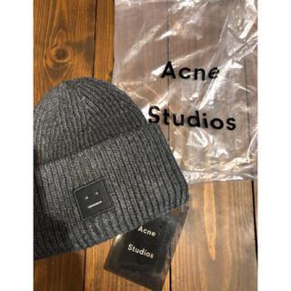 アクネ(ACNE)の新品未使用❤️acne studiosアクネニット帽ビーニー(ニット帽/ビーニー)