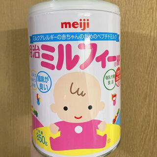 メイジ(明治)の明治 ミルフィー 1缶(哺乳ビン)
