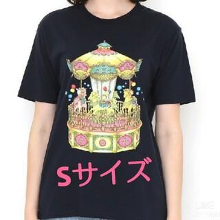 グラニフ(Graniph)のgraniph グラニフ コジコジ 新品 S メリーゴーランド Tシャツ(Tシャツ(半袖/袖なし))