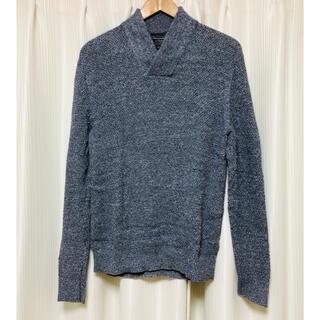 アバクロンビーアンドフィッチ(Abercrombie&Fitch)のアバクロ Vネック綿ニットセーター(ニット/セーター)