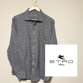 エトロ(ETRO)のオシャレ!【ETRO】エトロ チェックシャツ ギンガムチェック スクエア(シャツ)