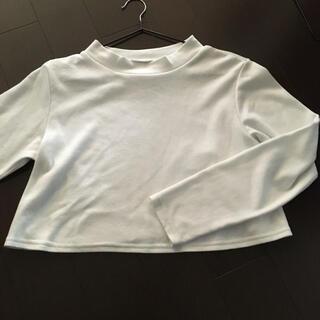 ニシマツヤ(西松屋)の裏起毛 丈短 ハイネックTシャツ(Tシャツ(長袖/七分))