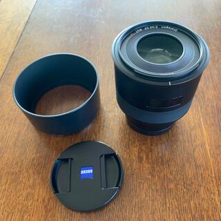 ソニー(SONY)の美品 ZEISS Batis 2/40 CF E-mount 保証あり(レンズ(単焦点))