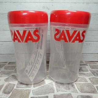 ザバス(SAVAS)の【送料無料】500ml×2個セット|明治 SAVAS プロテインシェイカー(プロテイン)