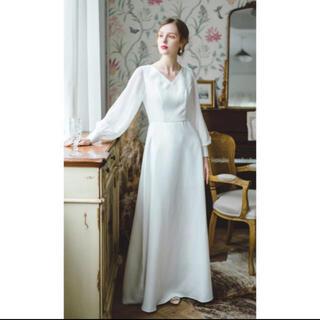 ウエディングドレス Vネック(ウェディングドレス)