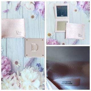クリスチャンディオール(Christian Dior)の【専用】Christian Diorのピンクのミラーのみです(メイクボックス)