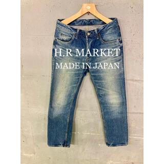 ハリウッドランチマーケット(HOLLYWOOD RANCH MARKET)のH.R MARKET HP405 デニムパンツ!日本製! (デニム/ジーンズ)